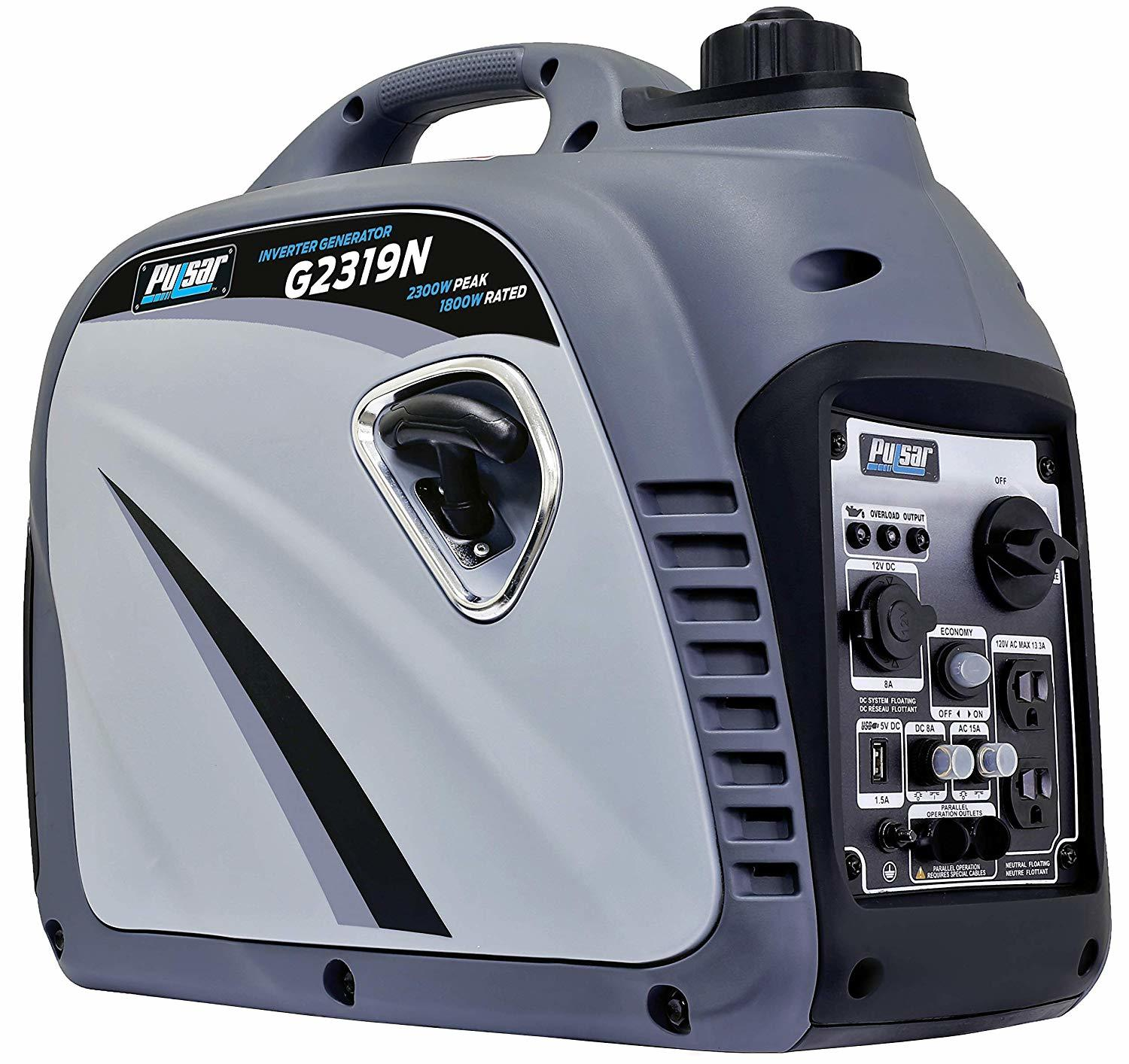 Pulsar G2319N 2,300W Portable Gas-Powered Quiet Generator