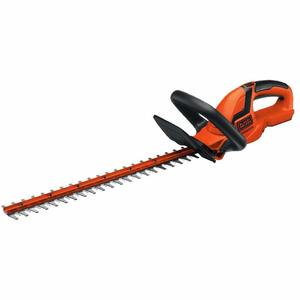BLACK+DECKER 20V MAX Cordless Hedge Trimmer, 22-Inch, Tool Only