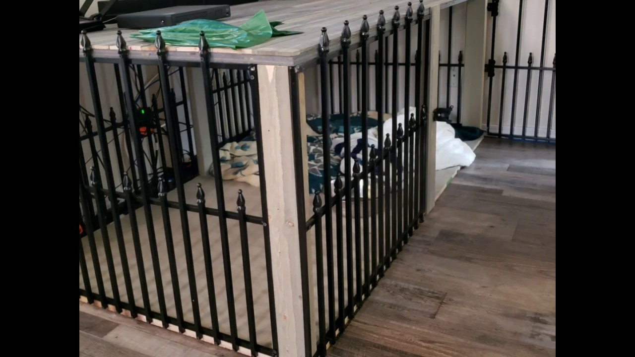 Picture of: Build Your Own Diy Rustic Big Dog Crate Furniture Table